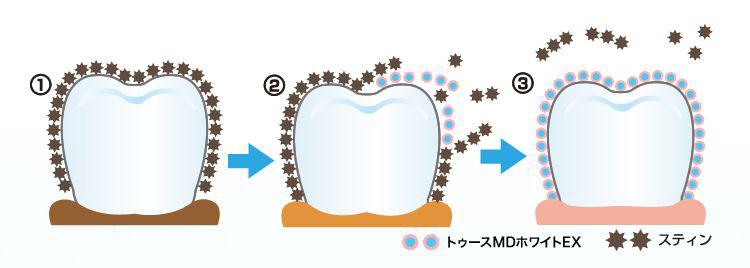 メタリン酸EXの働き(圧縮)