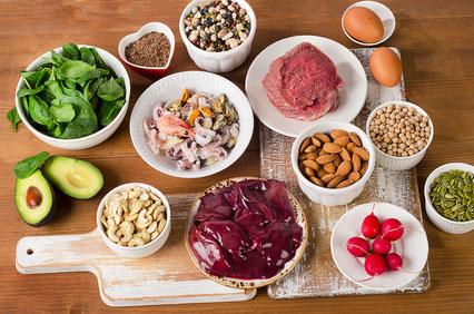 ビタミンB群の食材