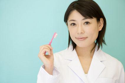 女性 歯磨き(1)
