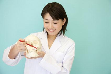 歯磨き 指導 女性
