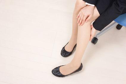 女性 足の冷え